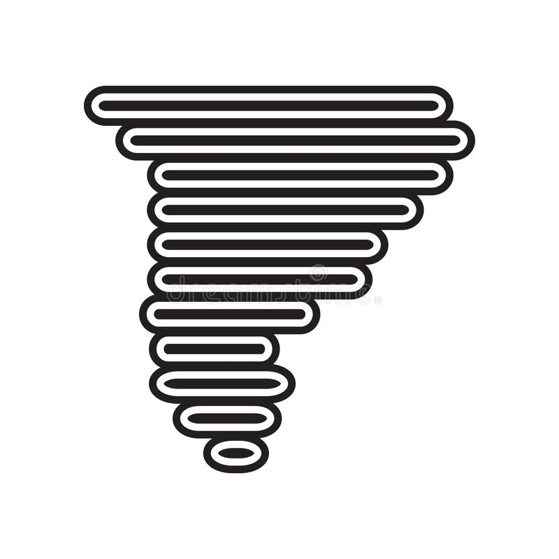 hurricane sign icon. Element of Weather for mobile concept and web apps icon. Outline, thin line icon for website design and vector illustration