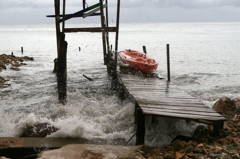 Hurrikan-Effekte lizenzfreies stockbild