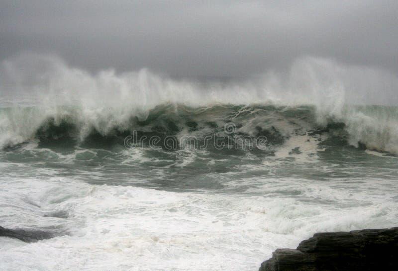Hurrikan-Graf-Wellen lizenzfreie stockfotos