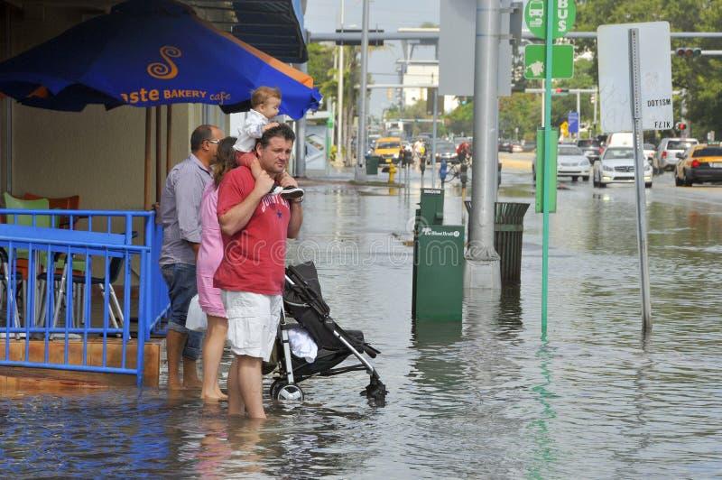 Hurrikan Sandy stockfotografie