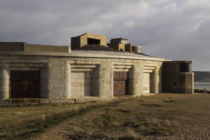 Hurst slott, södra framsida arkivfoton