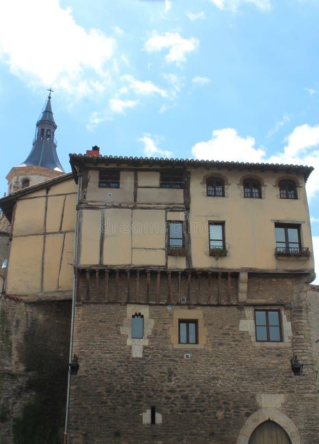 Hurtado de Andatarren dorrea, Vitoria-Gasteiz baskland royaltyfri bild