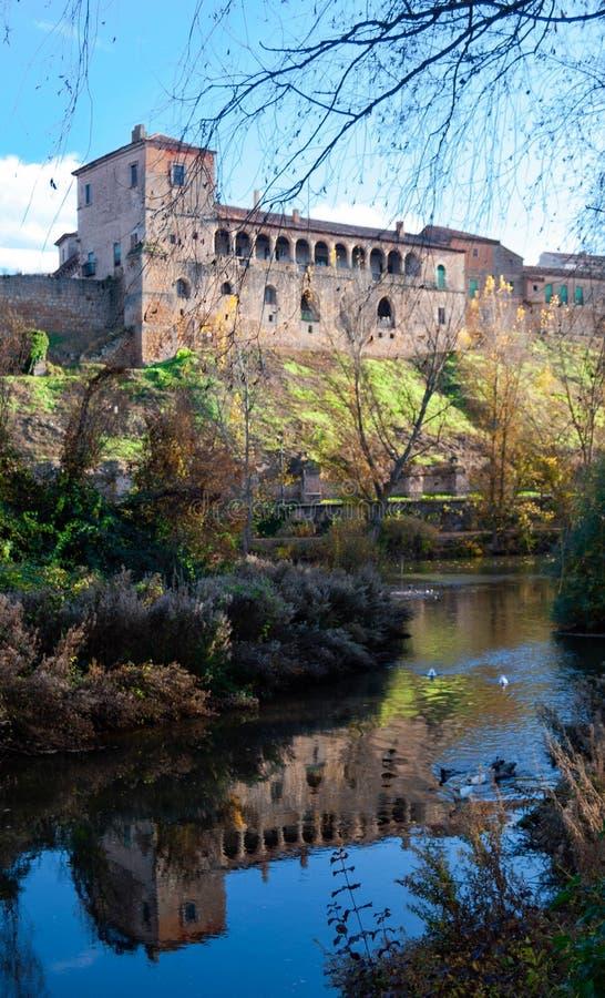 Hurtado pałac Almazan zdjęcia royalty free