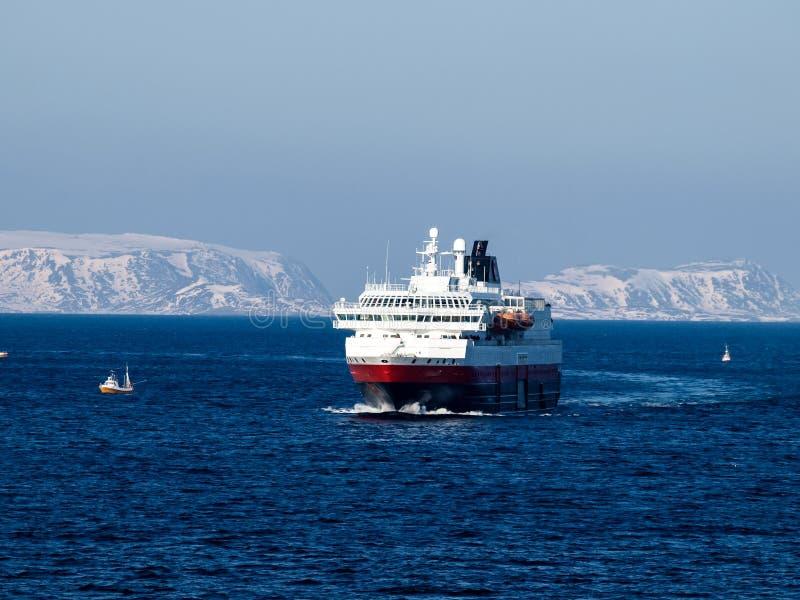 Hurtigruten Норвегия стоковые изображения rf