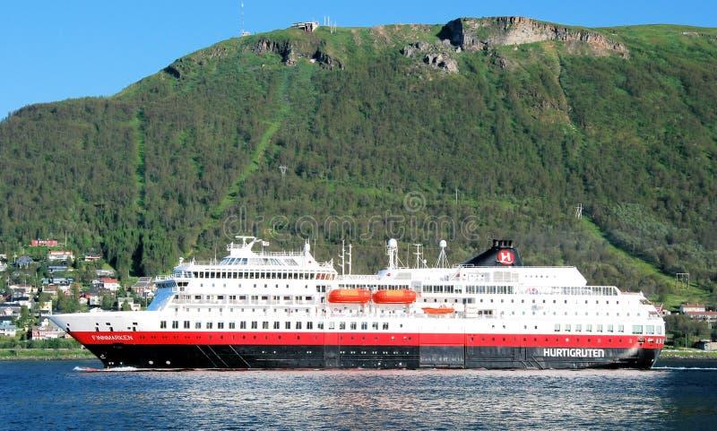 Hurtigruten στοκ εικόνες