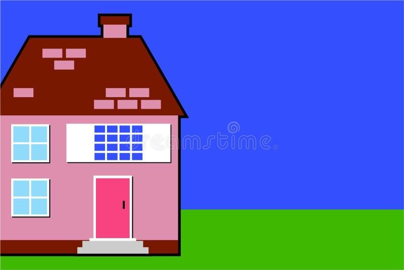 Download Hus stock illustrationer. Illustration av bostads, utomhus - 284190