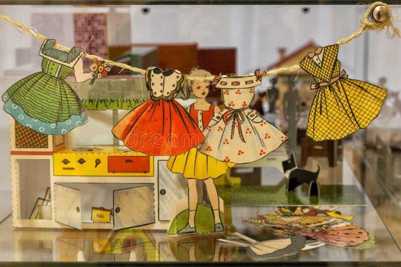 Hus av dockor arkivbilder