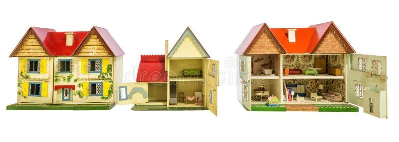 Hus av dockor fotografering för bildbyråer