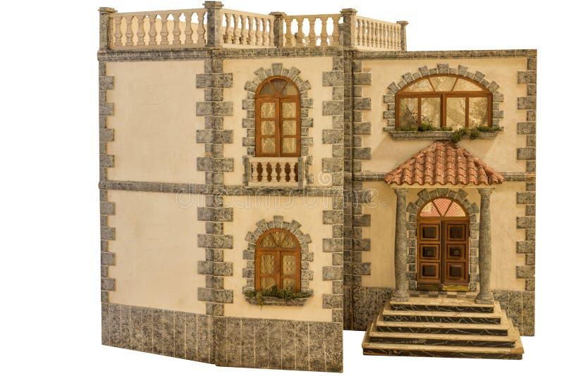Hus av dockor royaltyfri bild