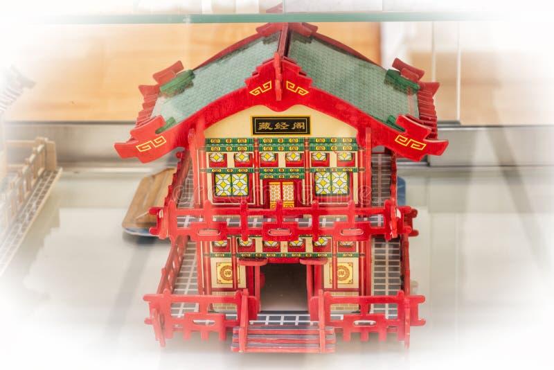 Hus av dockor arkivfoton