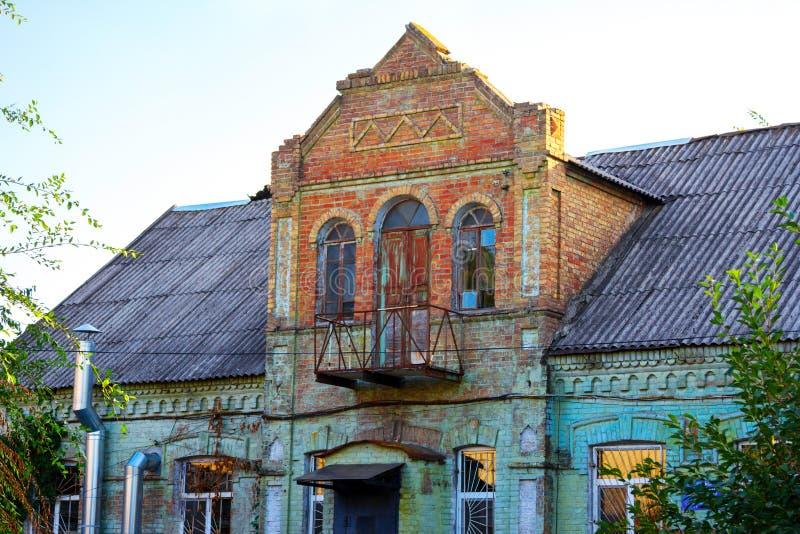 Hus av doktor Theodore Gotman som byggs av baptistiska nybyggare royaltyfri foto