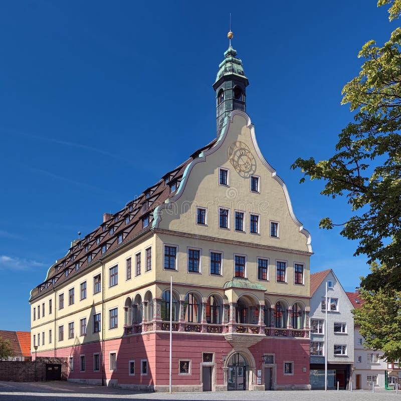 Hus av eden i Ulm, Tyskland fotografering för bildbyråer