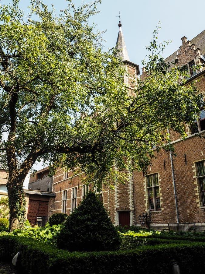 Hus av fristaden av den Tongerlo abbotskloster, Mechelen royaltyfria foton