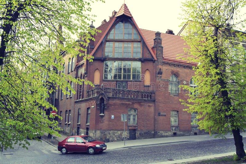 Hus av Lviv arkivfoto
