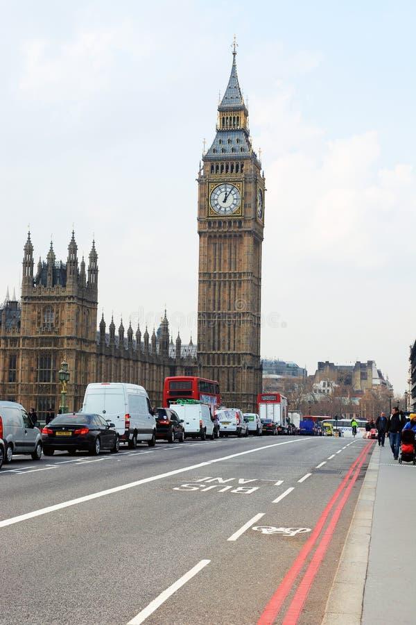 Hus av parlament tagna London fotografering för bildbyråer