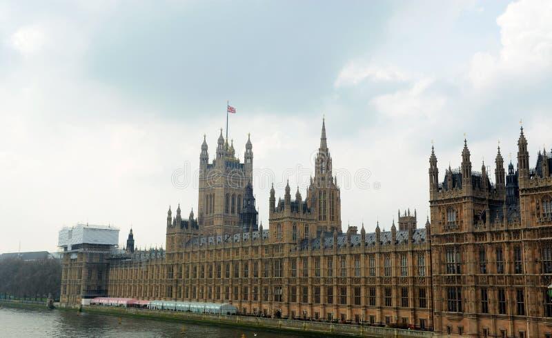 Hus av parlamentet som tas i London royaltyfri fotografi