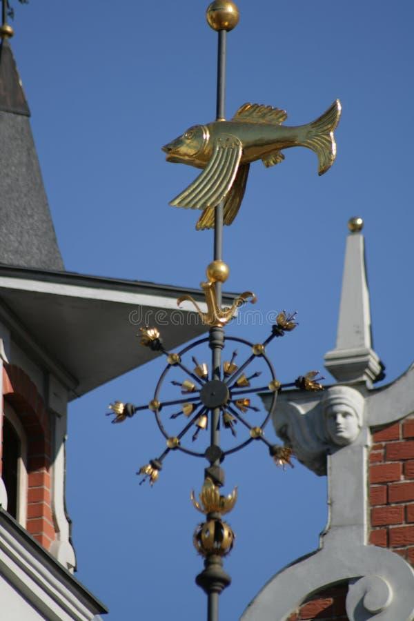 Hus av pormaskarna, Riga, Latia specificera royaltyfria foton