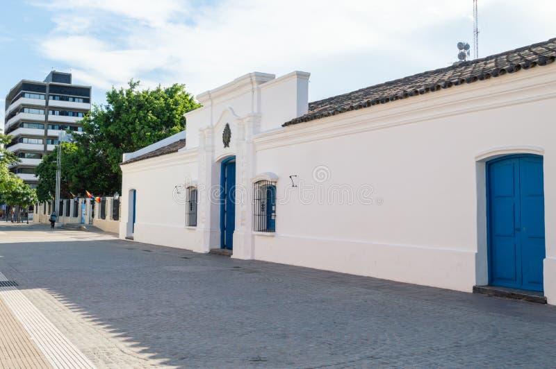 Hus av Tucuman Argentina arkivbild