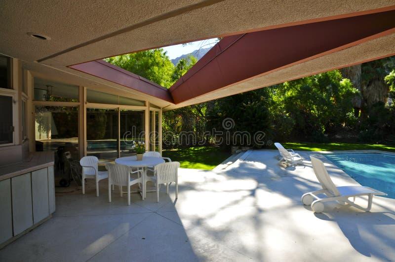 Hus för bröllopsresa för Elvis Presley ` s, Palm Springs royaltyfria bilder