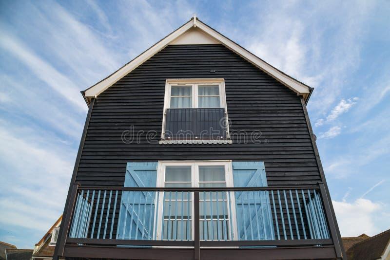 Hus för fiskarekojastil royaltyfri foto