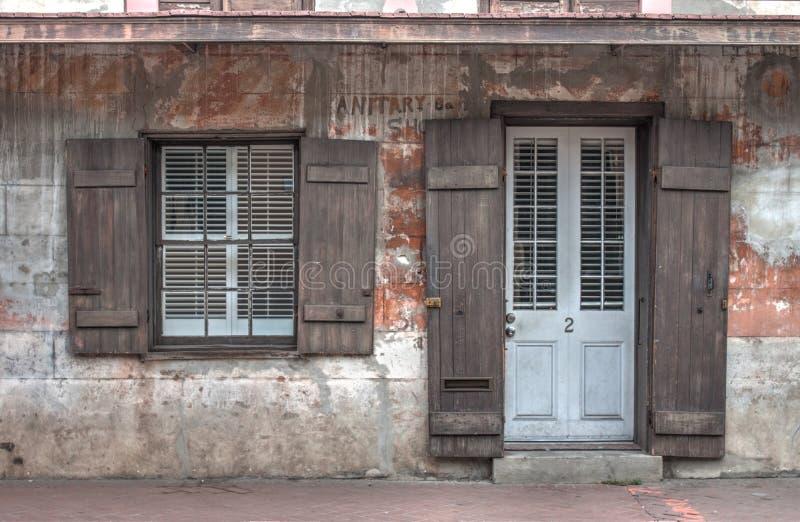 Hus för fransk fjärdedel royaltyfria foton