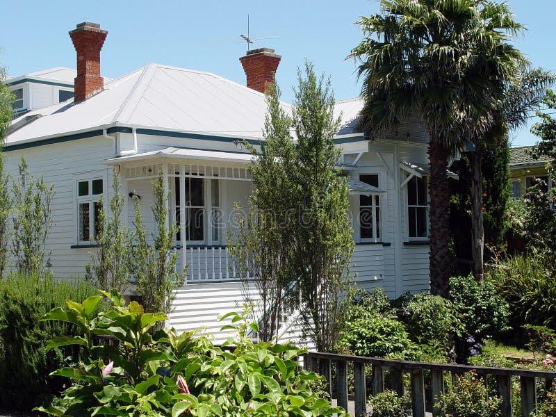 hus för koloniinvånare 5 arkivfoto