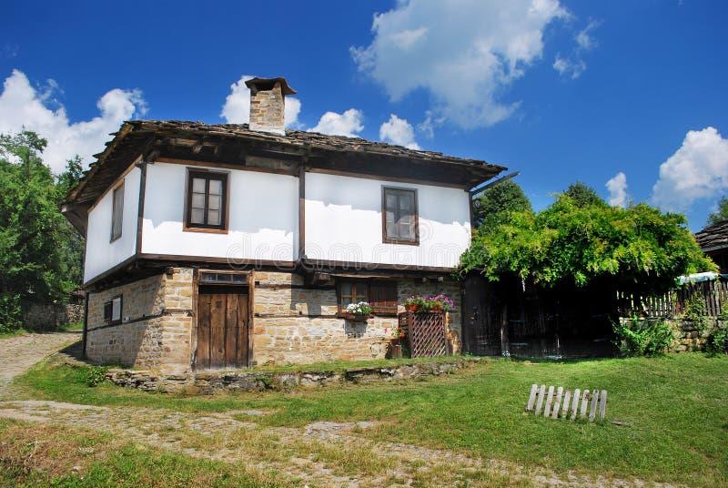 Hus i Bozhentsi royaltyfri foto