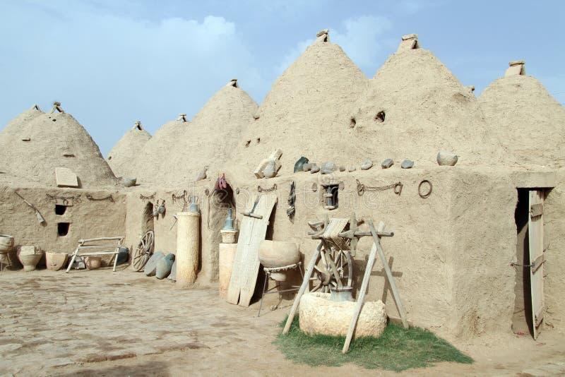 Hus i Harran arkivbilder
