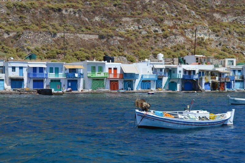 Hus i havet arkivfoto