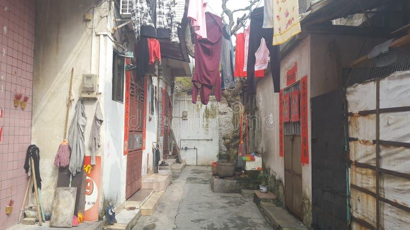 Hus i Kina royaltyfria foton
