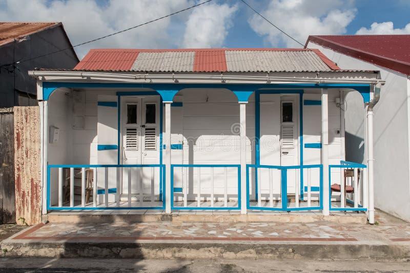 Hus i Marie Galante arkivfoton