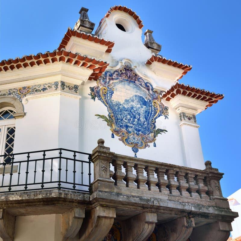 Hus i Sintra, Portugal fotografering för bildbyråer