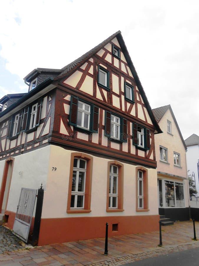 Hus i Tyskland royaltyfri bild
