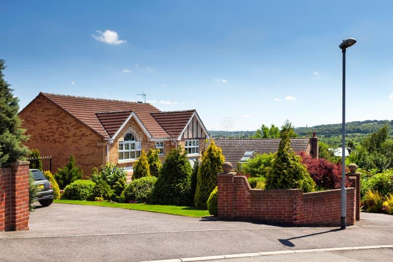Hus i UK royaltyfri fotografi