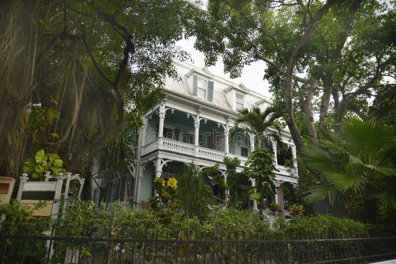 hus Key West royaltyfria bilder