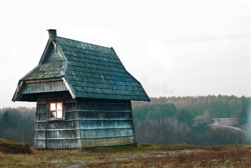 hus little royaltyfri bild