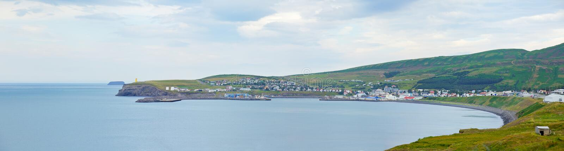 Husavik。冰岛 图库摄影
