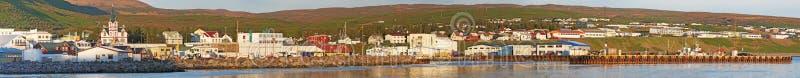 Husavik, Исландия, Северн Северный стоковое фото rf