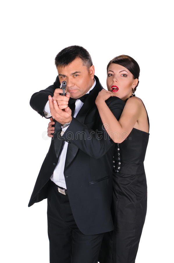 Husband is gangster stock photos