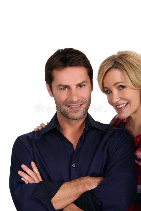 Download Husband Smiling With Arms Crossed Stock Photo - Image: 24498070