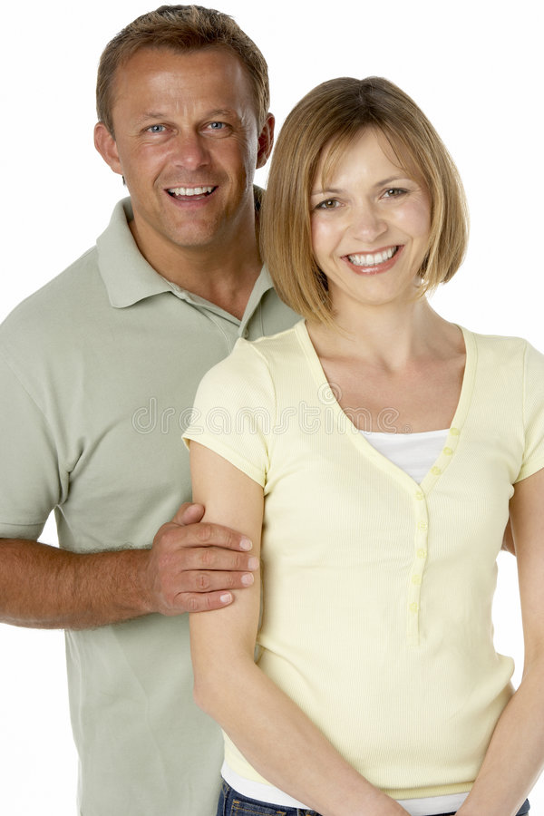Download Husband And Wife Happy Together Stock Image - Image of portrait, casual: 8755027