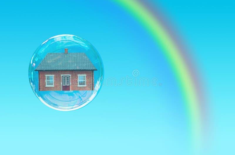 Download Husbubbla arkivfoto. Bild av marknad, regnbåge, repossession - 27282172
