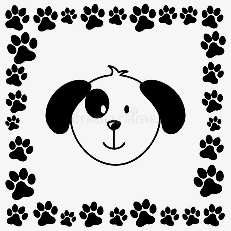 Husdjurdesign vektor illustrationer