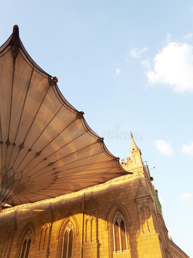 Husein-Moschee lizenzfreies stockfoto