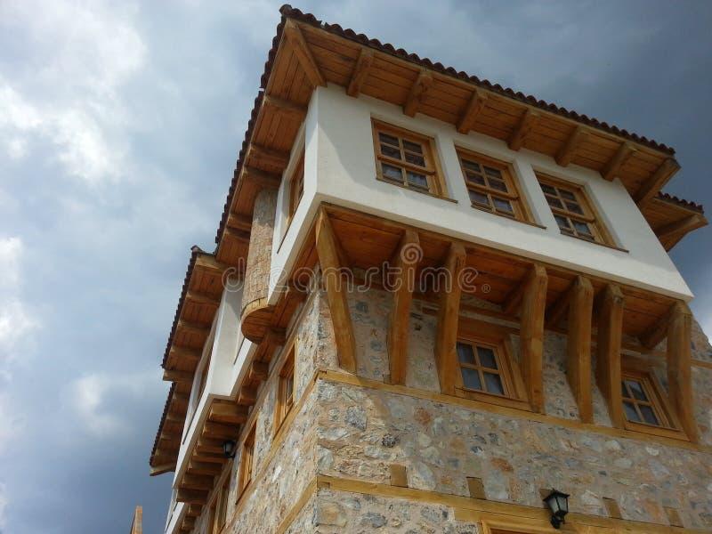 Huset av Mustafa Kemal Ataturk royaltyfria foton