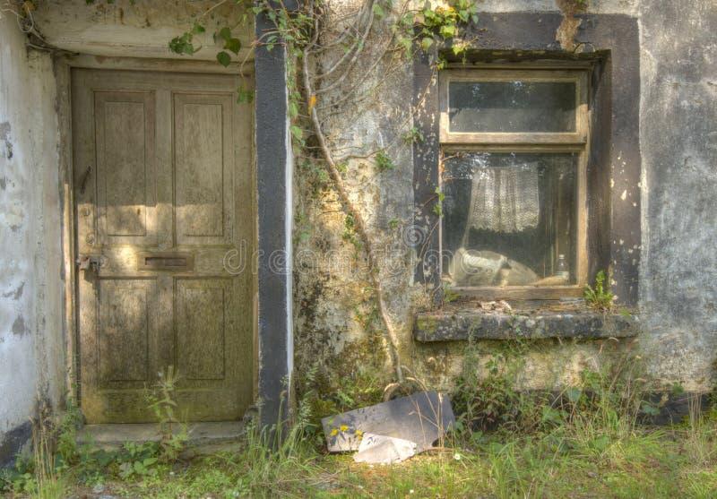 Husförfall arkivfoto
