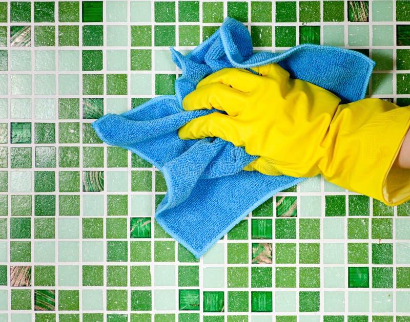 hushållsarbete arkivbild