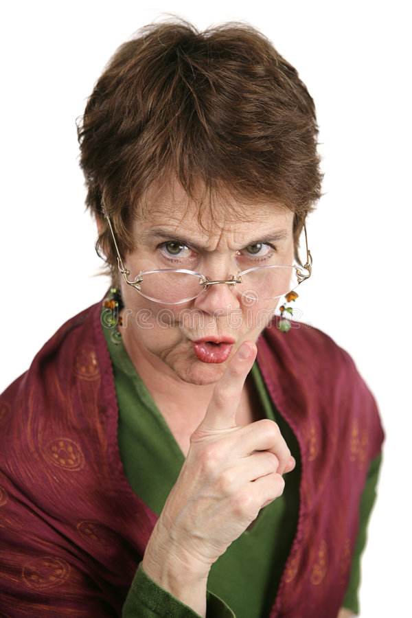 Download Hush! stock photo. Image of finger, funny, hostile, aged - 2061042