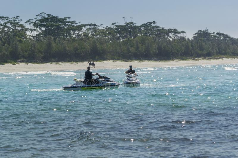 Huskisson, Jervis Bay, NSW, Australia fotografia stock libera da diritti
