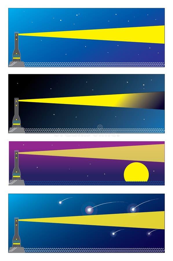 huslampa stock illustrationer